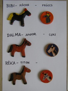 ló hűtőmágnesek